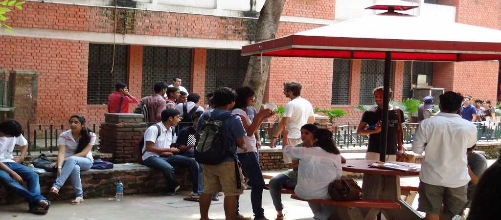 Hans Raj College Canteen New Delhi